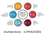 circle infographic template.... | Shutterstock .eps vector #1194424381