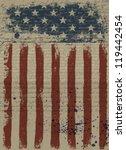 Aged American Patriotic...