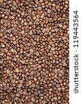 coffee beans background | Shutterstock . vector #119443564