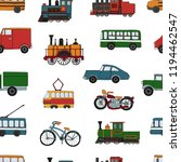 vector colored seamless pattern ... | Shutterstock .eps vector #1194462547