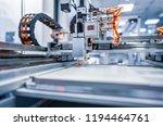 cnc laser cutting of metal ... | Shutterstock . vector #1194464761