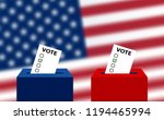 united states elections. us... | Shutterstock .eps vector #1194465994