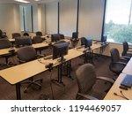 modern computer classroom... | Shutterstock . vector #1194469057
