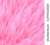 pink synthetic fur vector... | Shutterstock .eps vector #1194516064