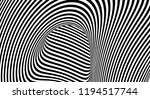optical illusion lines... | Shutterstock .eps vector #1194517744