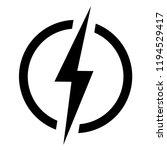 lightning  electric power... | Shutterstock .eps vector #1194529417