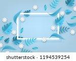 vector winter background...   Shutterstock .eps vector #1194539254