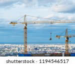 above view of high altitude... | Shutterstock . vector #1194546517