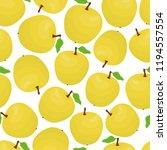vector cartoon seamless pattern ...   Shutterstock .eps vector #1194557554