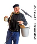 Smiling Chimney Sweep Showing...