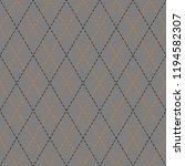 halloween argyle plaid.... | Shutterstock .eps vector #1194582307