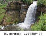 minnehaha falls waterfall | Shutterstock . vector #1194589474