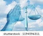 freedom of religion and... | Shutterstock . vector #1194596311