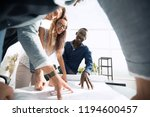 close up.a group of young...   Shutterstock . vector #1194600457