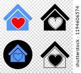 love house eps vector...   Shutterstock .eps vector #1194606574