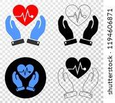 heart surgery care hands eps...   Shutterstock .eps vector #1194606871