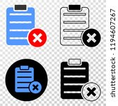 delete report page eps vector...   Shutterstock .eps vector #1194607267