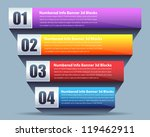 vector background number... | Shutterstock .eps vector #119462911