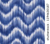 shibori motif. seamless pattern. | Shutterstock . vector #1194630187