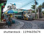 san pedro la laguna  guatemala  ... | Shutterstock . vector #1194635674