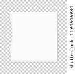torn paper edges for background.... | Shutterstock .eps vector #1194646984