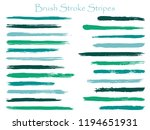 minimalistic ink sea green... | Shutterstock .eps vector #1194651931