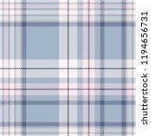 Plaid Design In Dusty Blue ...