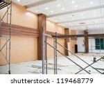 interior of a room under... | Shutterstock . vector #119468779