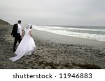 bride and groom newlyweds at... | Shutterstock . vector #11946883