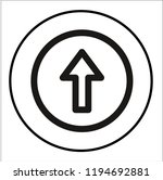 arrow vector icon   Shutterstock .eps vector #1194692881