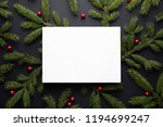 christmas holiday background...   Shutterstock . vector #1194699247