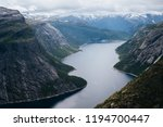 ringedalsvatnet lake. view from ... | Shutterstock . vector #1194700447