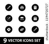 pictograph icon. collection of... | Shutterstock .eps vector #1194720727