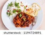 thai food   chicken in spicy... | Shutterstock . vector #1194724891