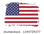 grunge united states of america ...   Shutterstock .eps vector #1194729277