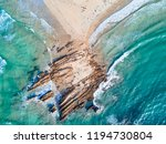 arrowhead point the rocks and... | Shutterstock . vector #1194730804