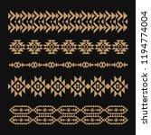 seamless ornament  ethnic... | Shutterstock .eps vector #1194774004