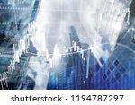 forex trading  financial market ... | Shutterstock . vector #1194787297