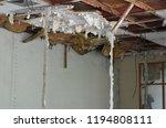the wood door and office with... | Shutterstock . vector #1194808111
