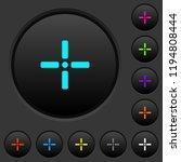 precise cursor dark push... | Shutterstock .eps vector #1194808444