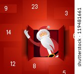 Santa Advent Calendar   Festiv...