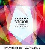 abstract vector background | Shutterstock .eps vector #119482471