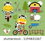 vector illustration set of... | Shutterstock .eps vector #1194831367