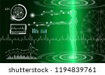 abstract background technology... | Shutterstock .eps vector #1194839761