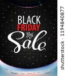 black friday big sale vector... | Shutterstock .eps vector #1194840877