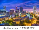 tulsa  oklahoma  usa skyline at ... | Shutterstock . vector #1194920221