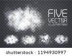 fog or smoke. illustration... | Shutterstock .eps vector #1194930997