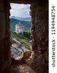 the old castle of calascio | Shutterstock . vector #1194948754