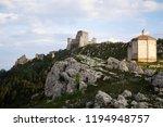 the old castle of calascio | Shutterstock . vector #1194948757