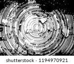 grunge circle round rough... | Shutterstock . vector #1194970921